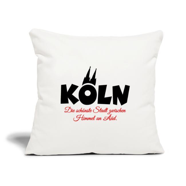 Köln Kissen zwischen Himmel un Ääd