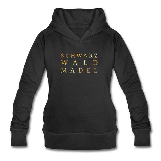 Schwarzwaldmädel Bio Hoodie