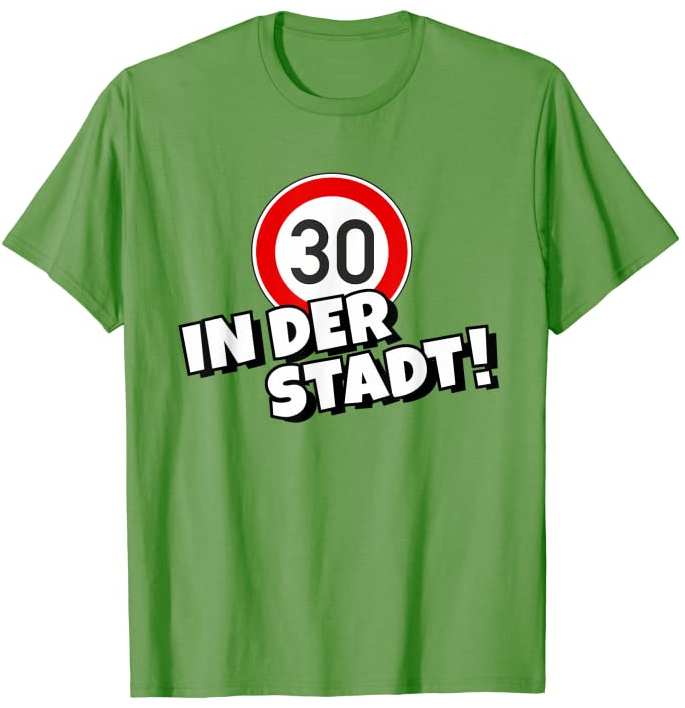 Tempo 30 T-Shirts