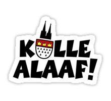 Kölle Alaaf Aufkleber, Shirts und mehr...