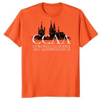 """Köln T-Shirt Kölner Skyline """"CCAA"""""""