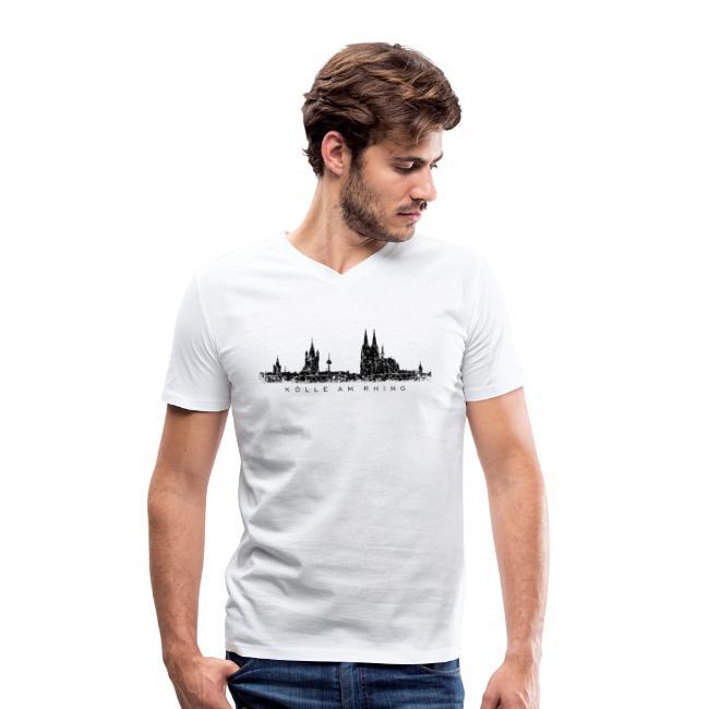 Kölner Skyline Kölle am Rhing