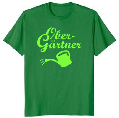 """Garten T-Shirt """"Obergärtner"""""""